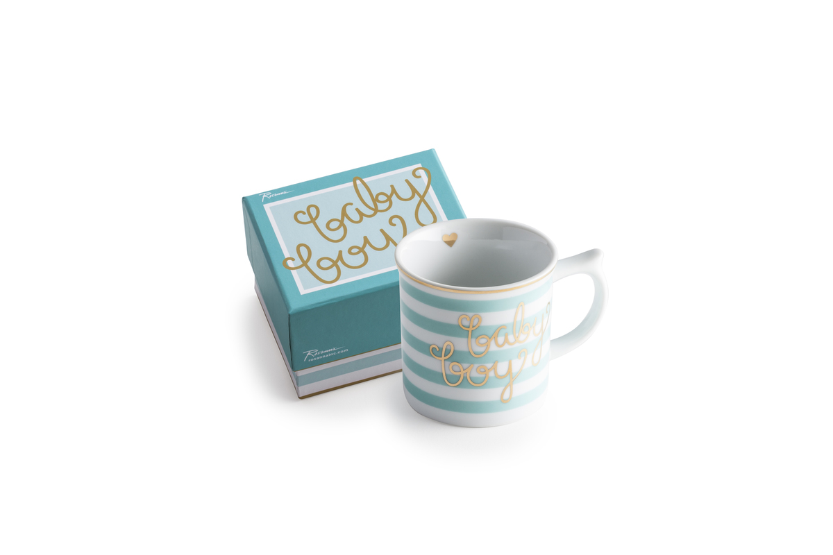 Mug Baby Boy in a Gift Box 6oz(Damaged with a little bit color)