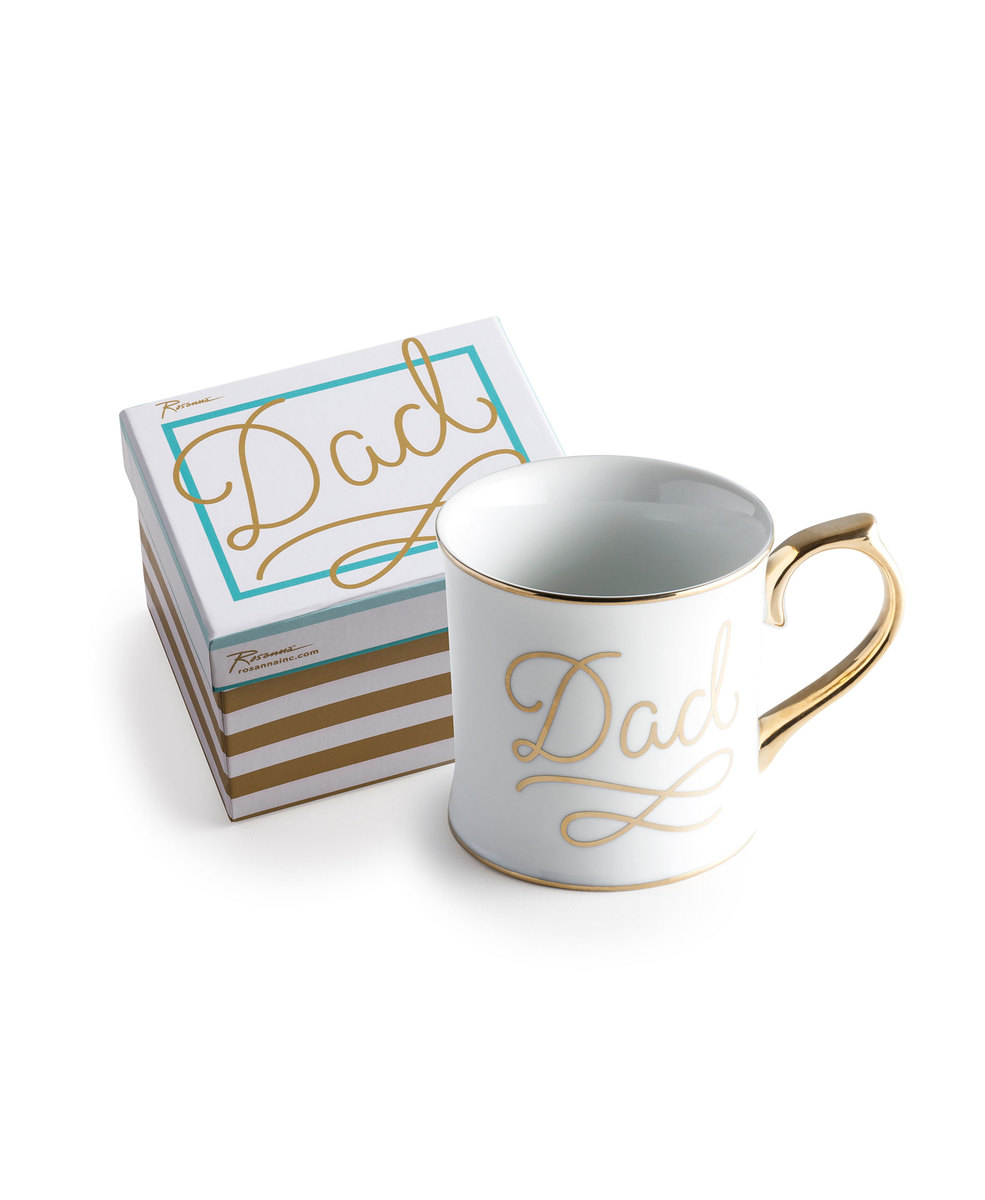 Mug Dad in a Gift Box 12oz(Damaged with a little bit color)