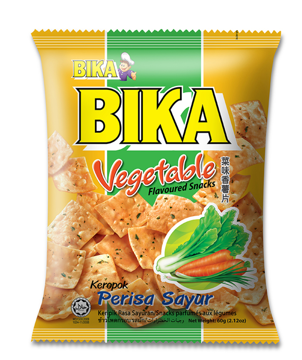 Vegetable flavoured Snacks