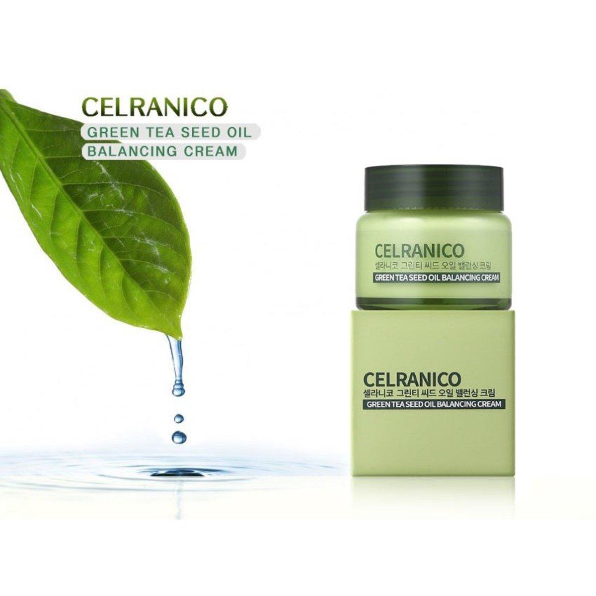 Celranico 綠茶籽油平衡面霜 50ml [平行進口] - 特價優惠