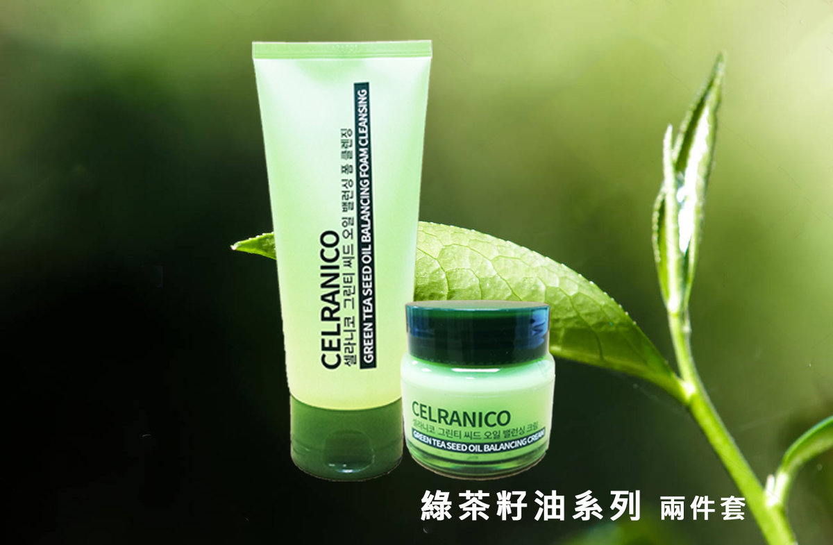 Celranico Green Tea Foam Cleanser x Cream Package [Parallel Import Product]