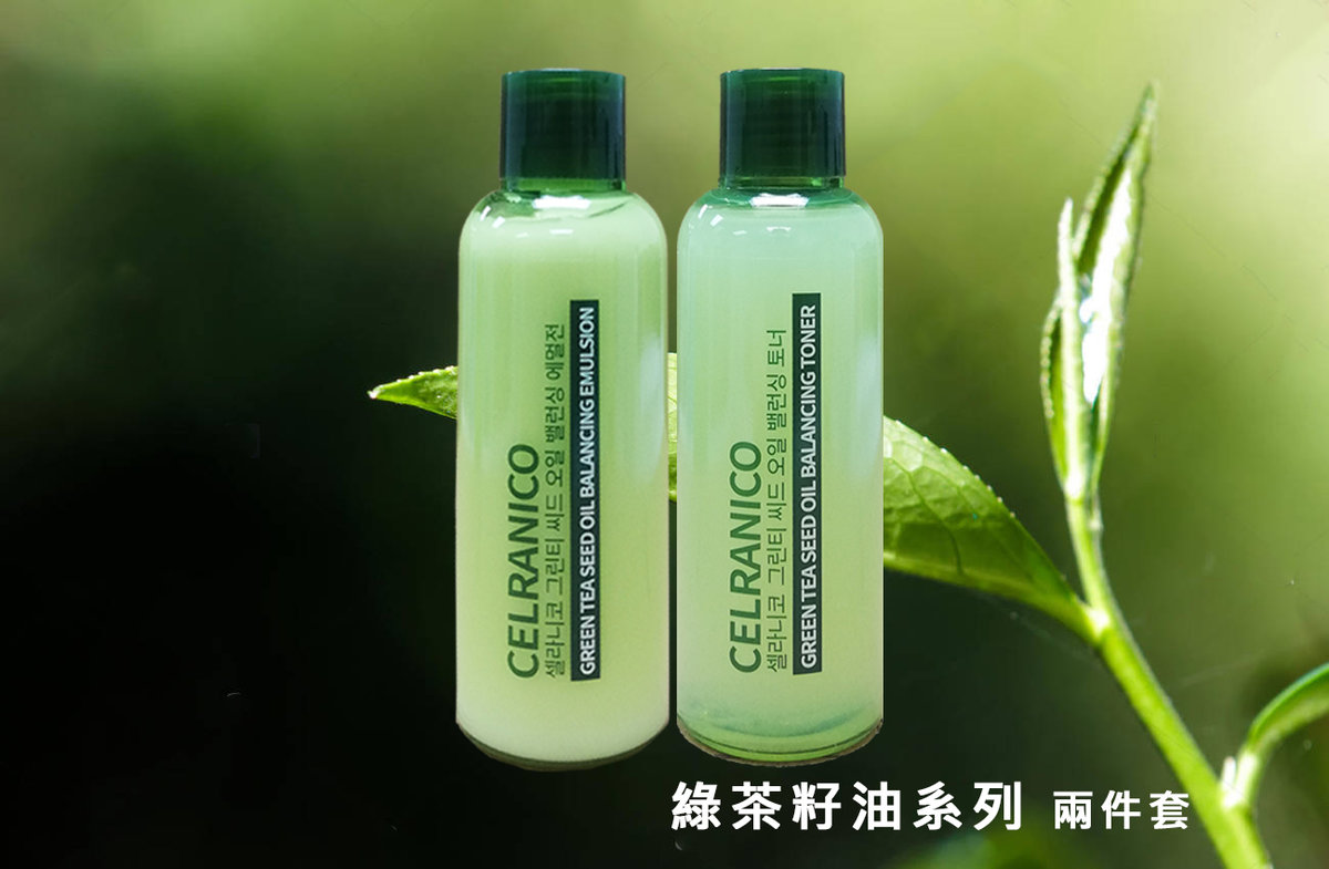 Celranico Green Tea Toner x Emulsion Package [Parallel Import Product]