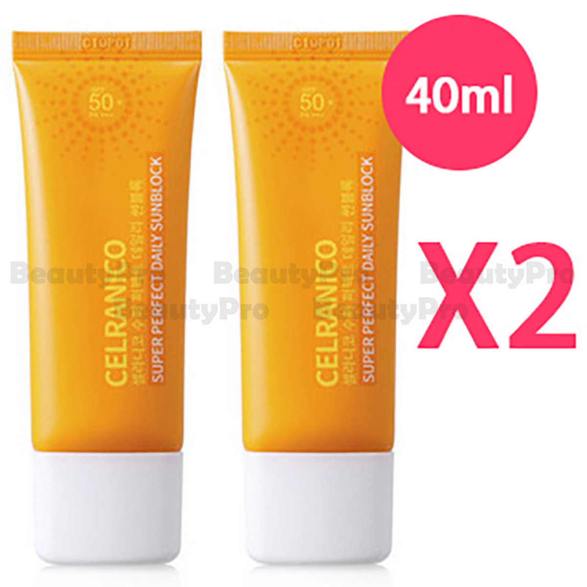 Celranico Super Perfect Daily SunBlock 40ml x2 [Parallel Import Product]
