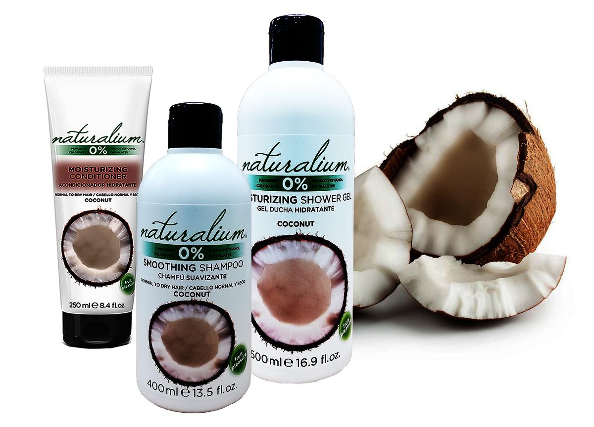 西班牙水果系列 - 椰子味護髮素 x 洗髮水 x 沐浴露 特惠套裝