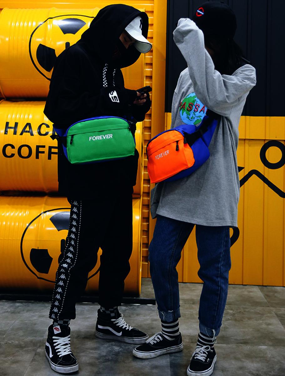 (綠色) 輕便時尚斜孭袋