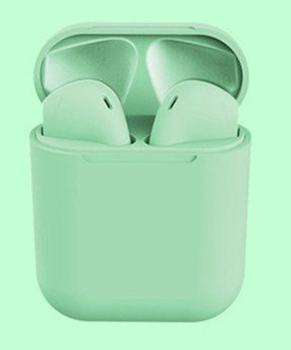 (淺綠色) inPods12 無線藍牙耳機 適合任何附有藍牙功能手機