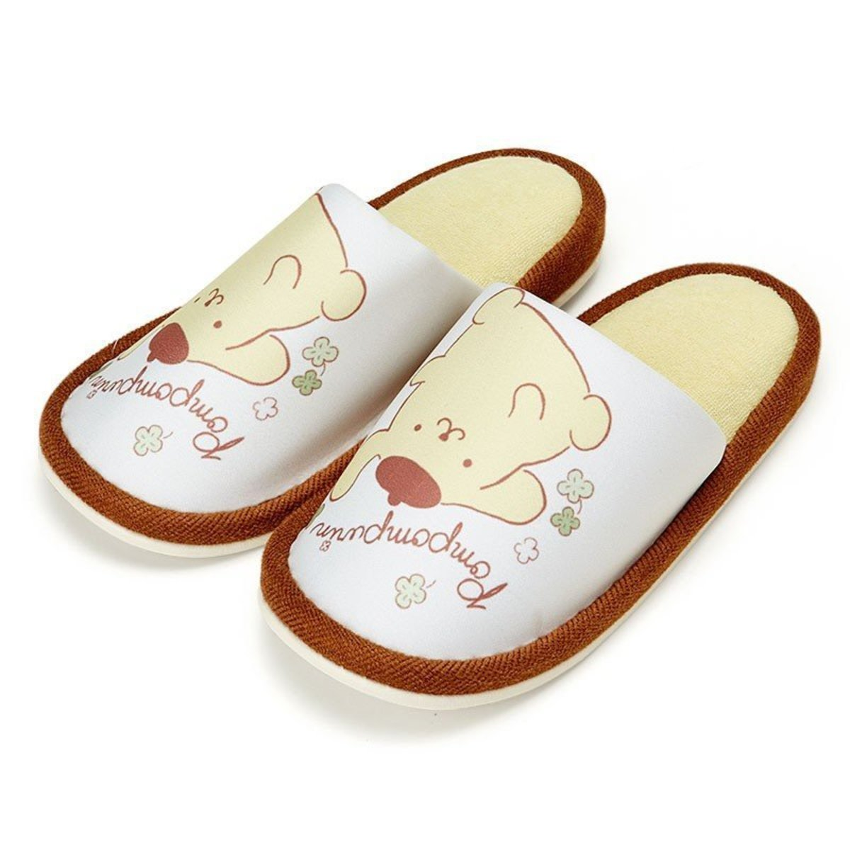 (Pompompurin) 日本Sanrio可愛卡通布拖鞋