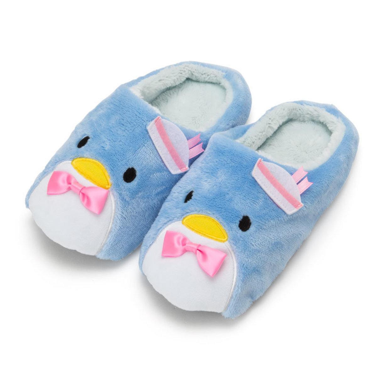 (Tuxedosam/Sam) Japan Sanrio Cartoon Fleece Slippers
