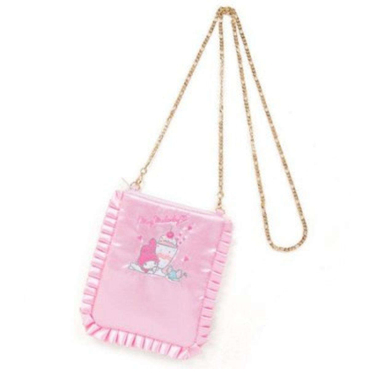 (My Melody) Japan Sanrio Shoulder Bag w/ Chain Strap