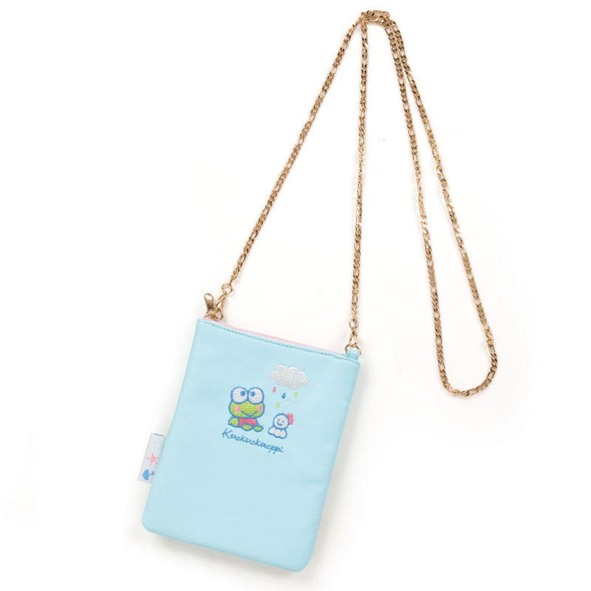 (Kerokeroppi) Japan Sanrio Shoulder Bag w/ Chain Strap