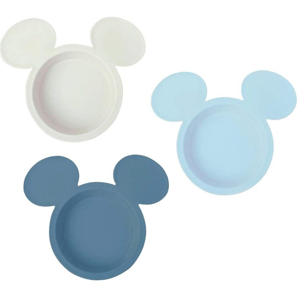 Disney Light Blue Mickey Mouse 3pcs Pack Made In Japan