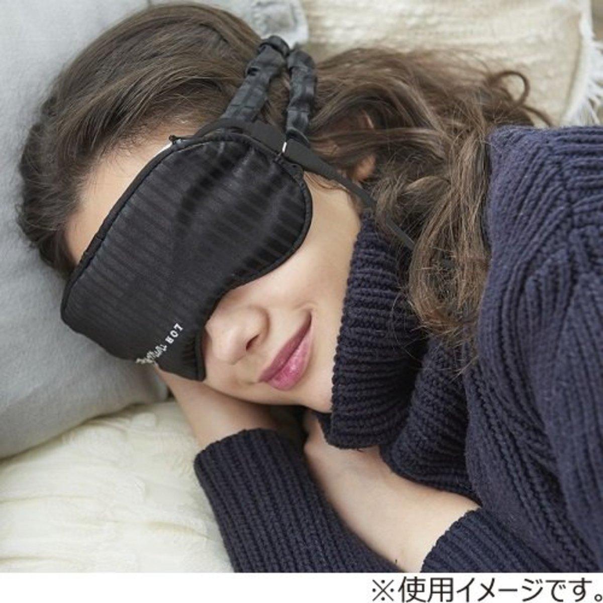 (黑色/N) 日本超人氣產品 MeMe USB 外攜發熱敷眼罩 (附收納袋)