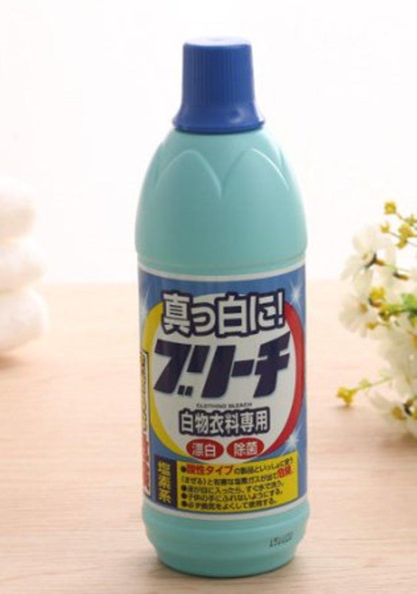 (白物衣料專用) 日本鹽素除菌漂白水