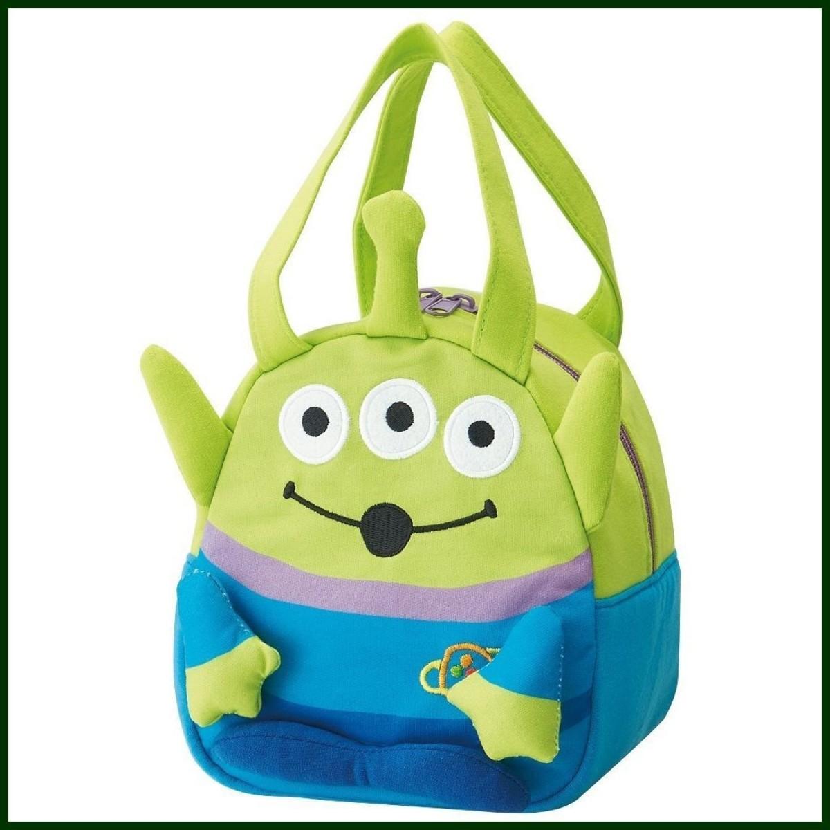 (Toy Story Alien) Japan Disney Kid's Lovely Cartoon Handbag