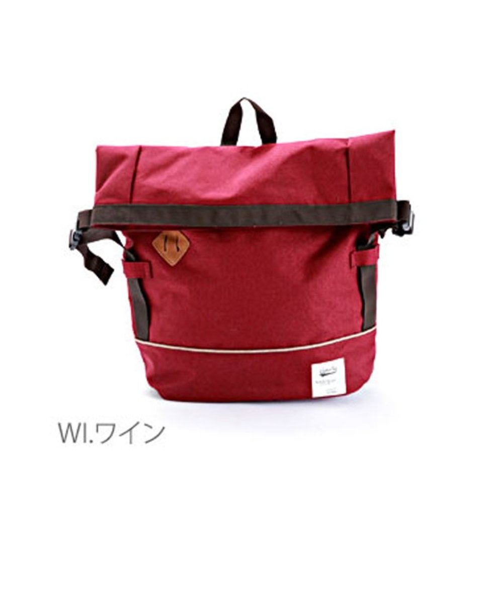 (Red) Japan Anello Flap Large Capacity Backpack