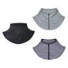 (Grey) Japan Design 95% UV Protection Cool Feeling Zip Neck Cover