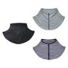 (Navy Stripe) Japan Design 95% UV Protection Cool Feeling Zip Neck Cover