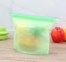 (Random Colour) (2 pcs) Silicone Re-usable Food Bag