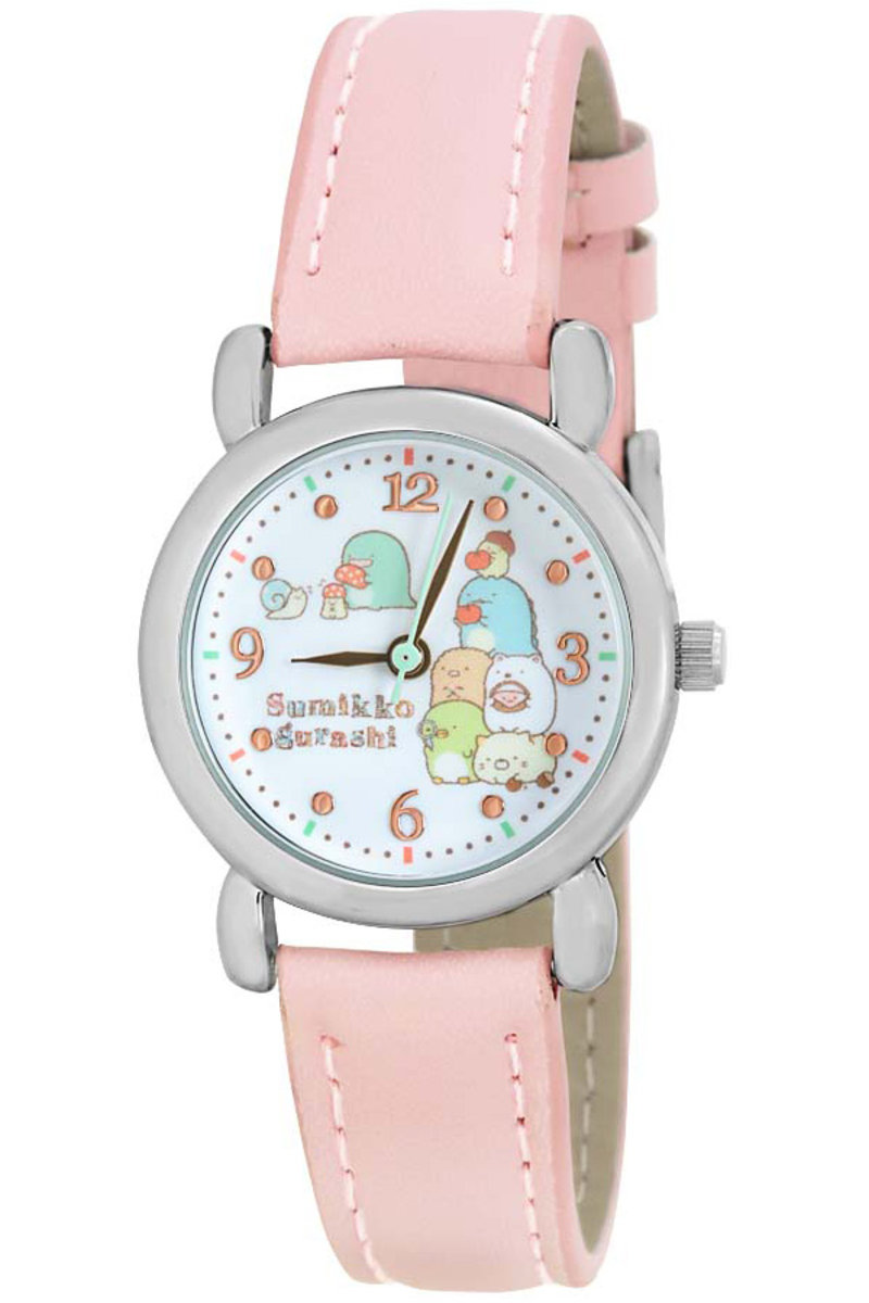 (Pink Strap) Japan Popular Sumikko Gurashi Cartoon Watch
