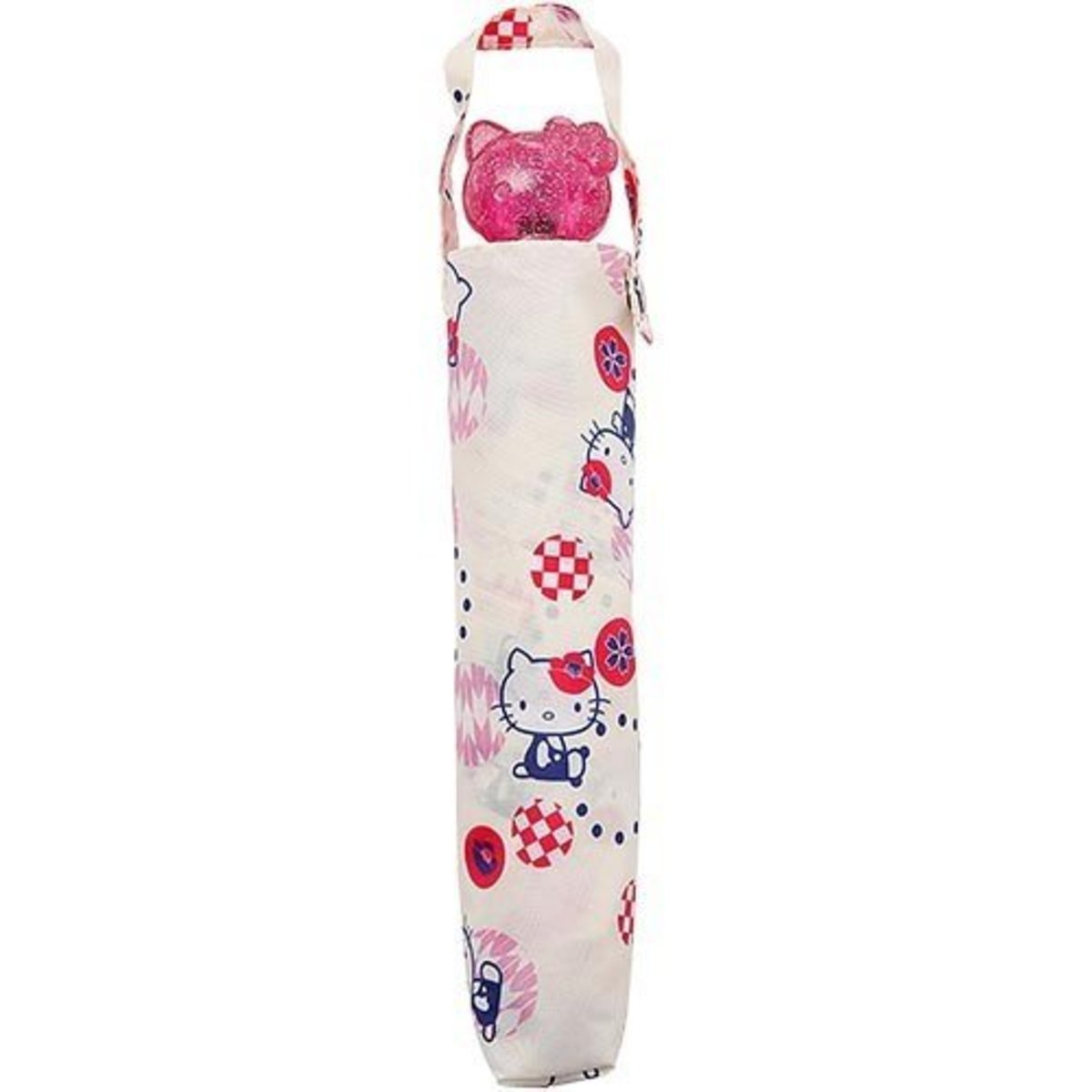 2bc303de1 (Pink Hello Kitty B) Japan Sanrio 3D Cartoon Head Handle Folding Umbrella