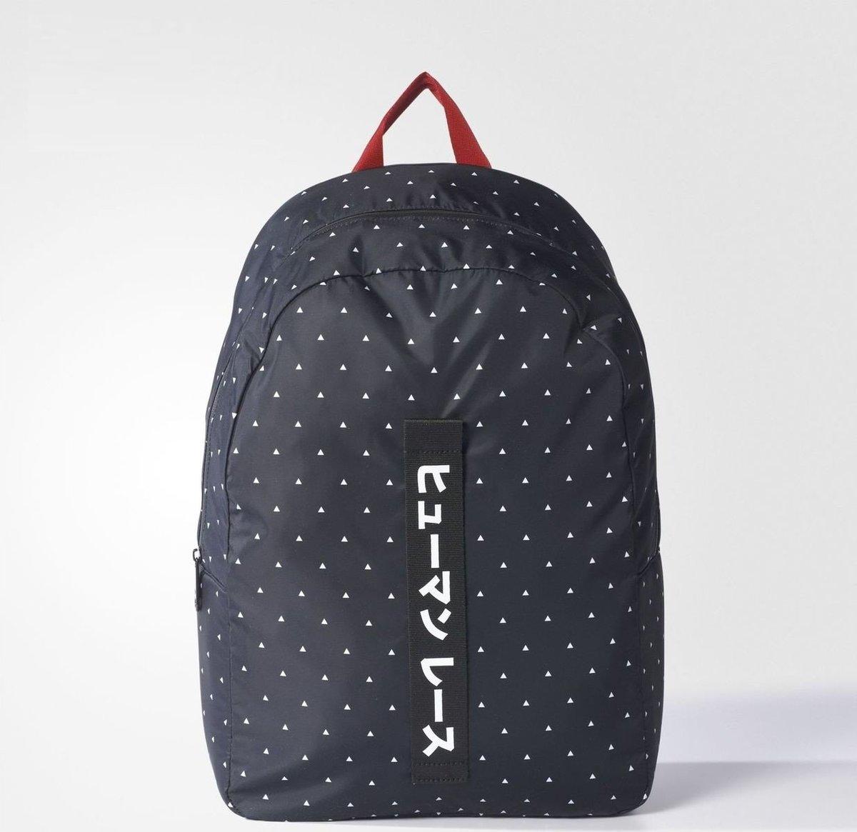 (White Triangles) Japan❤️adidas X PHARRELL WILLIAMS HU ADV Backpack