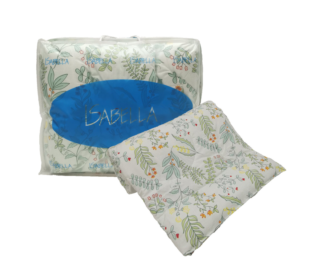 ISABELLA Printed Summer Quilt (Leaves),  Double