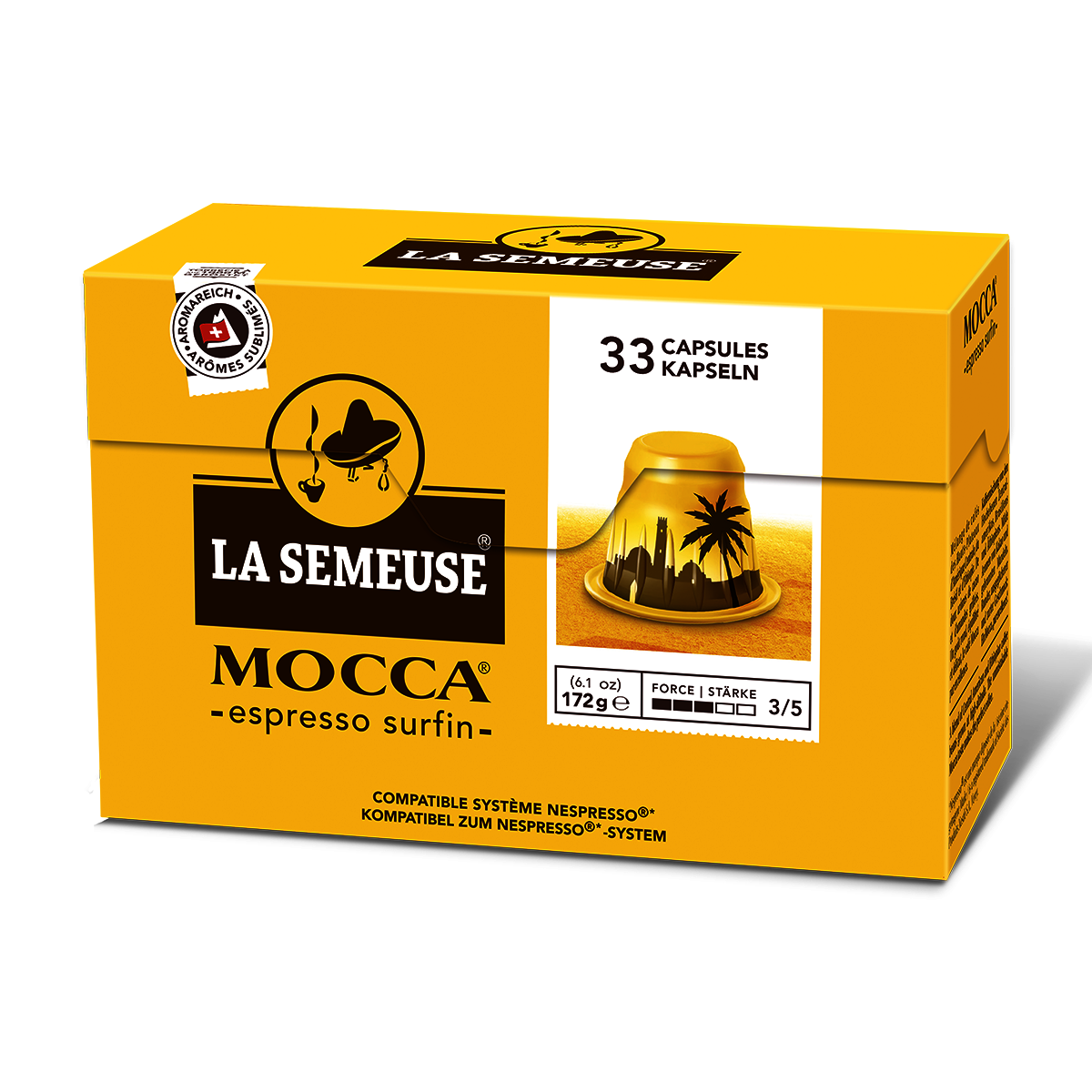 Nespresso Compatible Capsules, Swiss Mocha Coffee, Best before date: 31.01.2020   [Clearance]