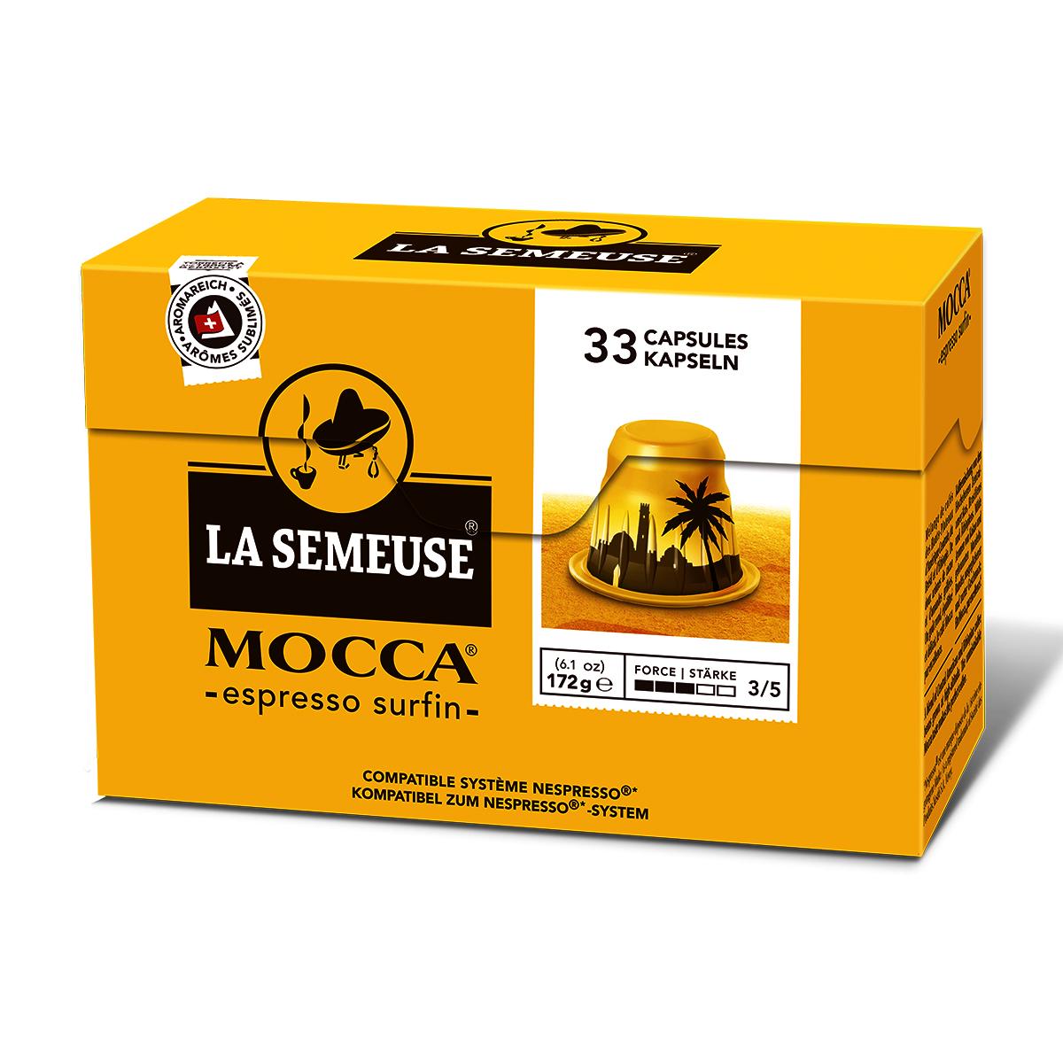 瑞士Moka咖啡膠囊, 摩卡咖啡(雀巢咖啡機兼容)