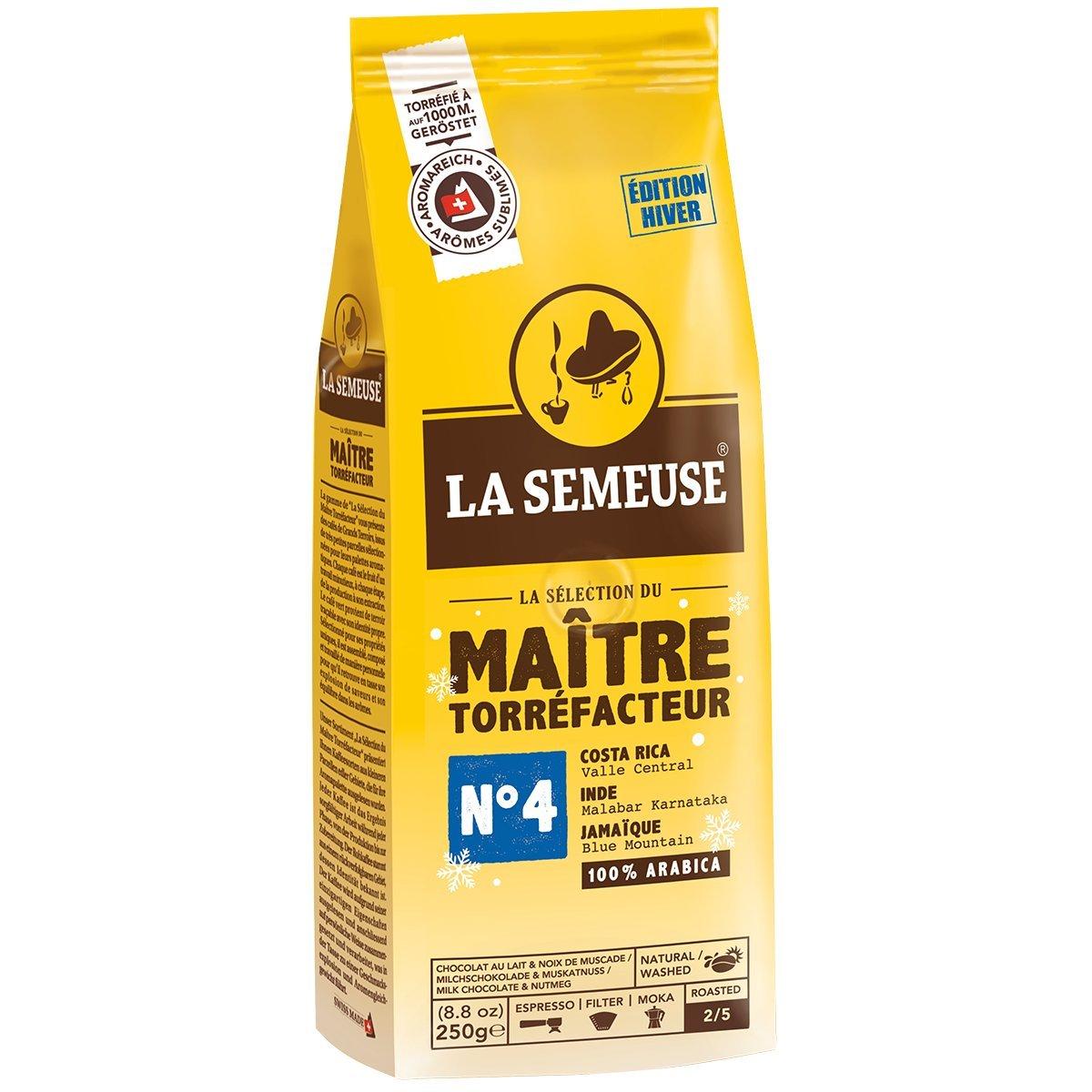 SMT N°4 Swiss High Altitude Premium Coffee Beans, 100% Arabica Coffee, Best before date:  28.12.2019