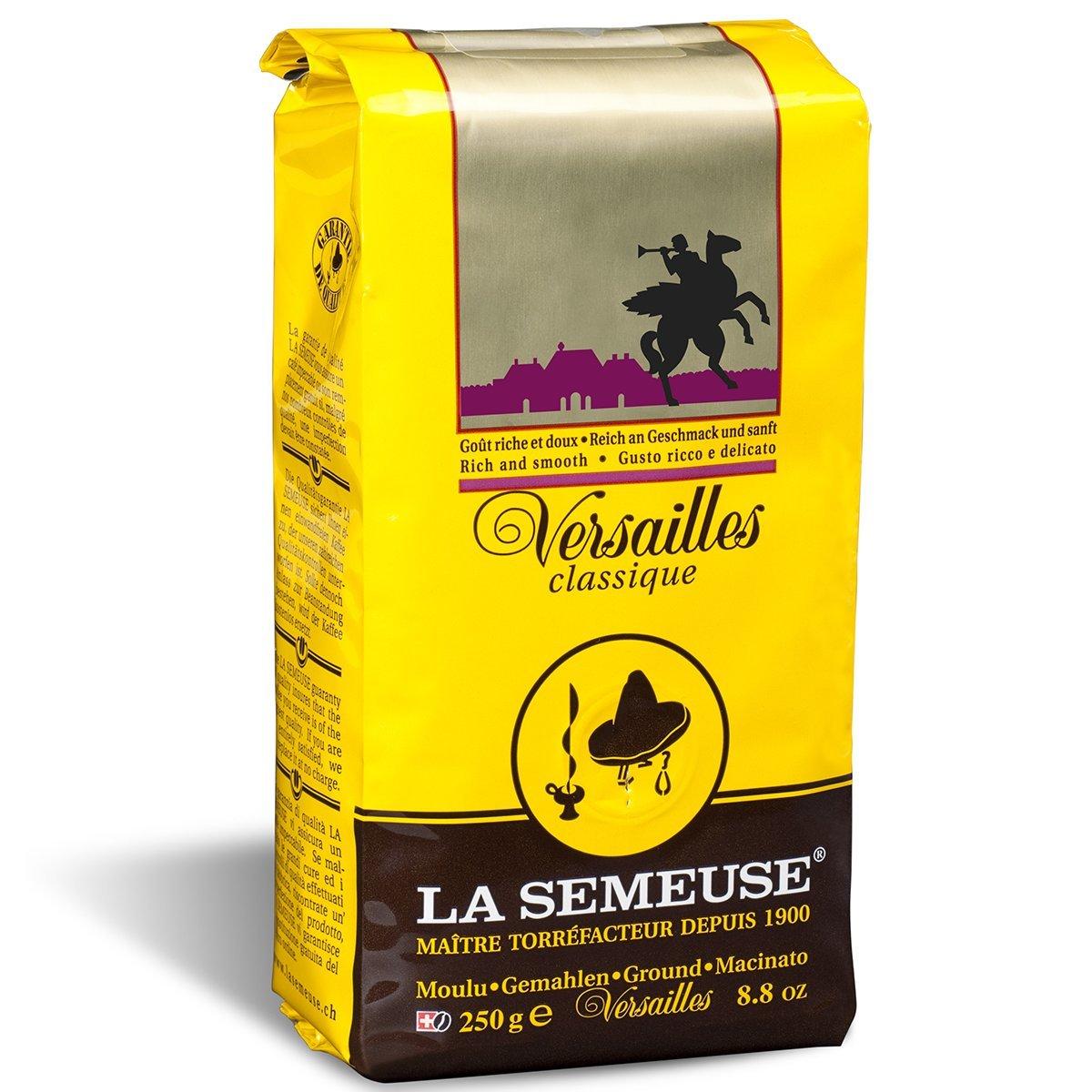 Best Ground Coffee 2020 La Semeuse   Versailles Ground Coffee, Swiss Premium Coffee, 100
