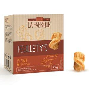 Swiss Mini Salty Bread Twists, Breadsticks, Puff Pastry Straws - Best before date: 1.04.2020