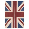 Door Curtain (Union Flag) with Extendable Rod