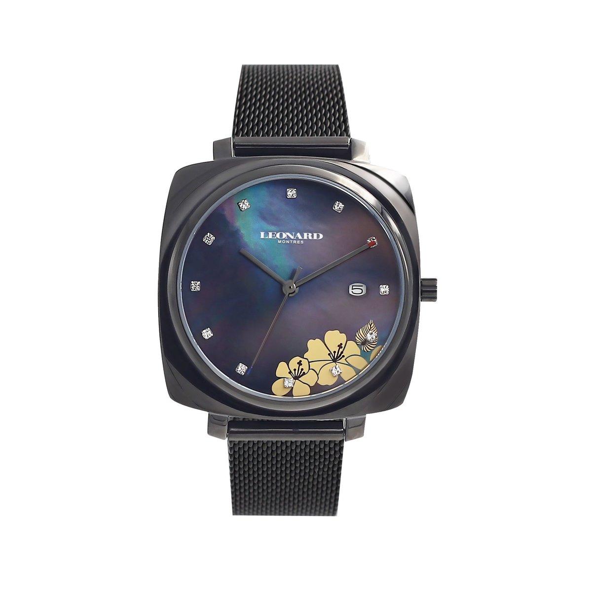 時尚印花枕形腕錶 LLF1018-17B