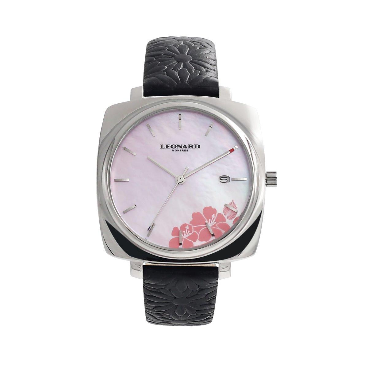 時尚印花枕形腕錶 LLF1018-26S
