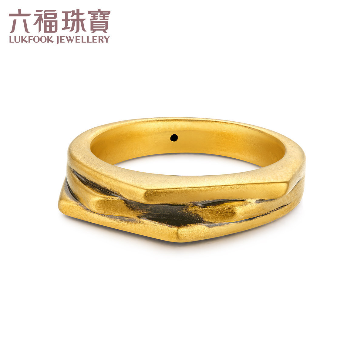 """Feng Style""""Au990 Electro-plated Multi-colour  Ring"""