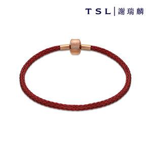 [贈品] 紅色精鋼手繩  (18cm)