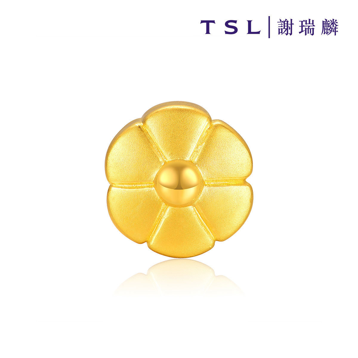 999 Gold Charm