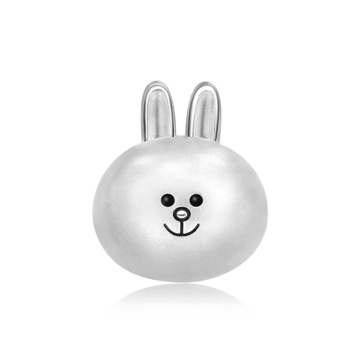 LINE FRIENDS Collection: CONY 925 Silver Charm (with String)