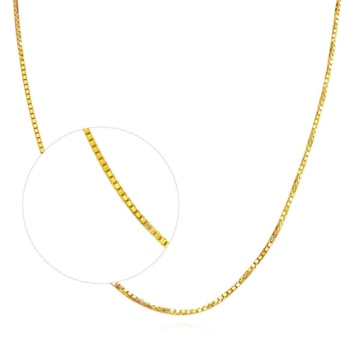 18K/ 750 黃金頸鏈