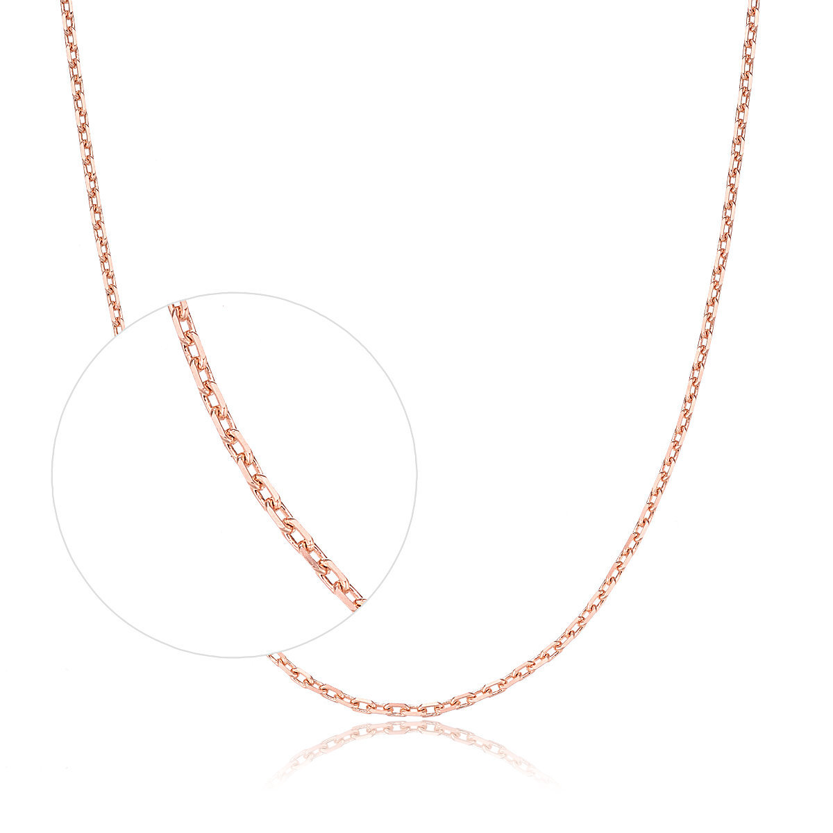 18K/750 Rose Gold Necklace