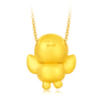 LINE FRIENDS Collection: SALLY 999 Gold Pendant