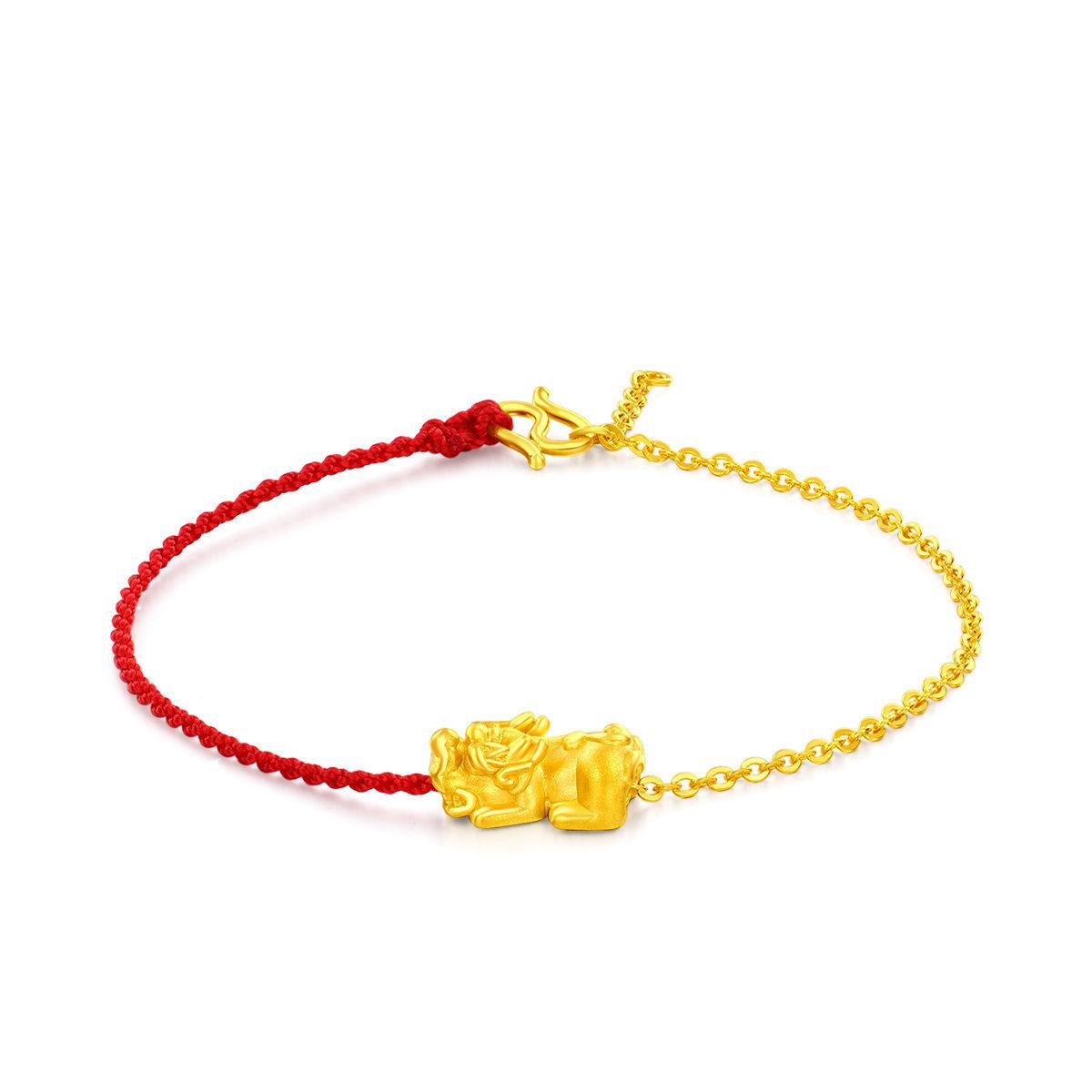 999 Gold Pixiu Bracelet