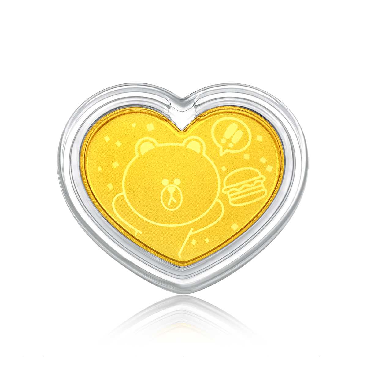 LINE FRIENDS Collection: BROWN 999.9 Gold Coin