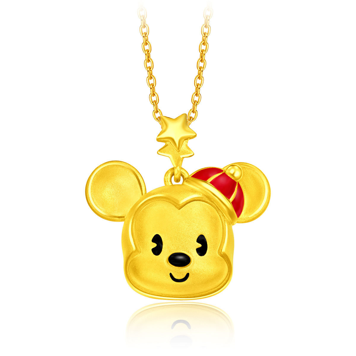 Disney Classic Collection: Mickey 999 Gold Pendant