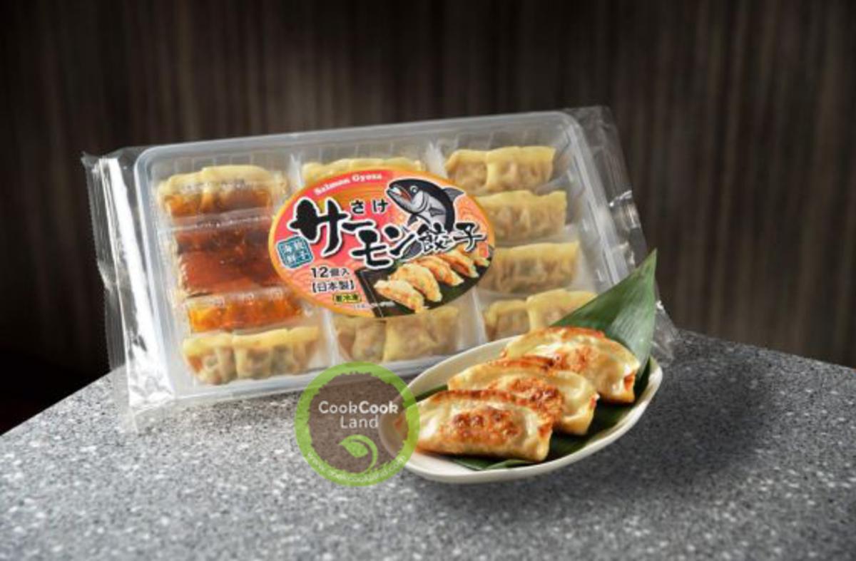 Japanese Nagano Salmon Gyoza