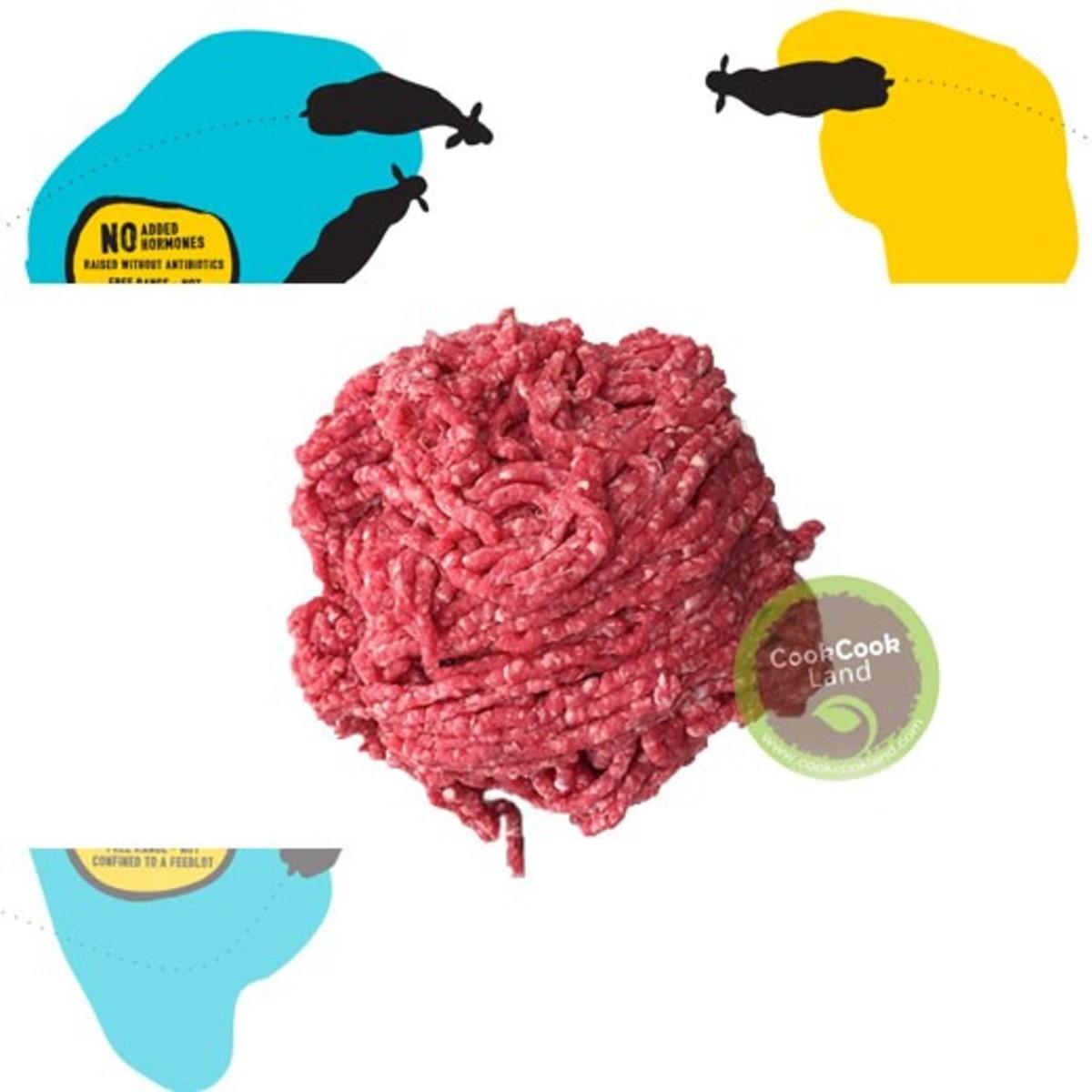 Australia Organic Grass-fed Minced Beef  500g