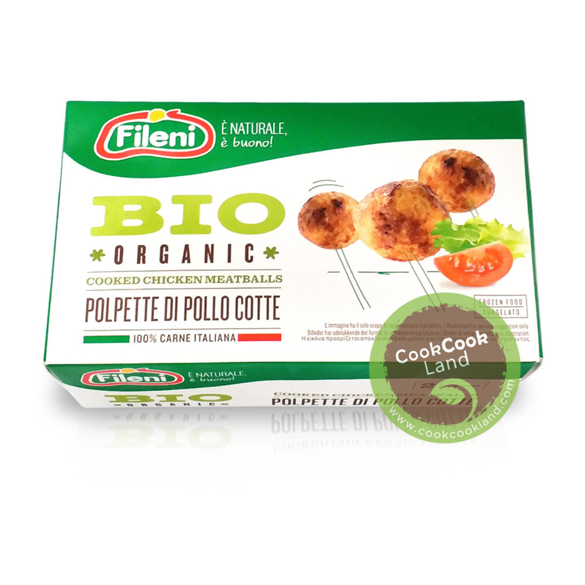 Fileni 意大利有機煮熟雞肉丸 320g