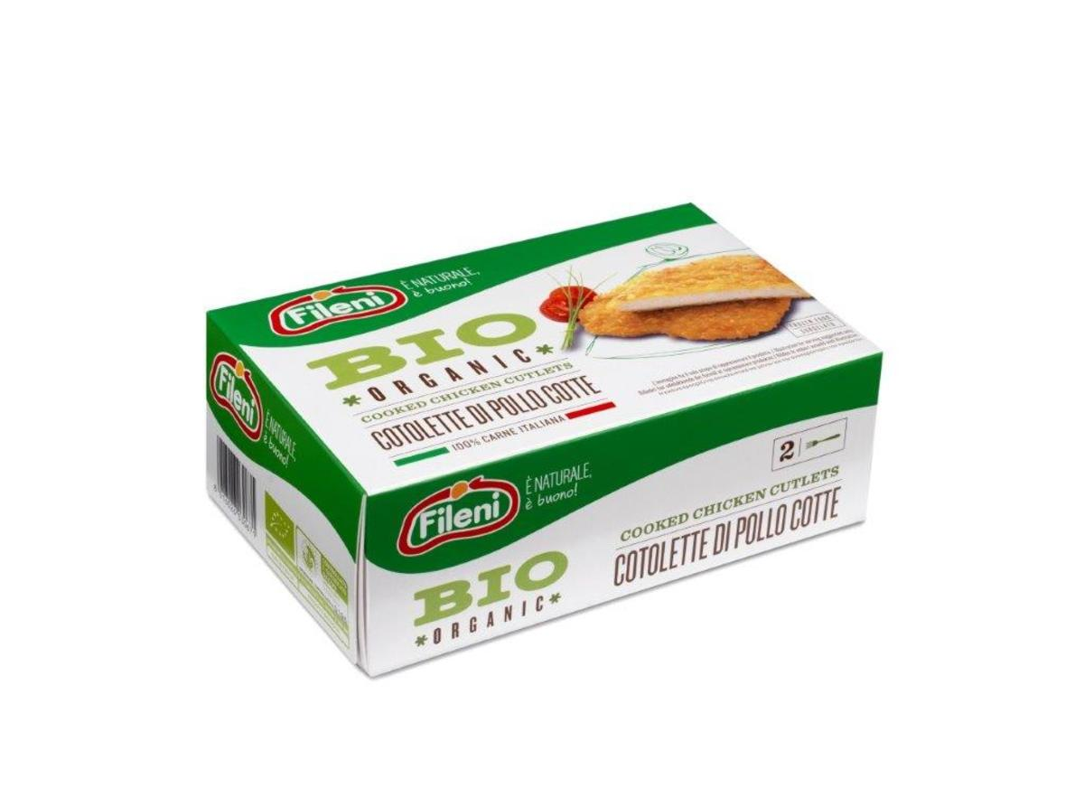Italy Fileni Organic Cooked Chicken Cutlets 200g