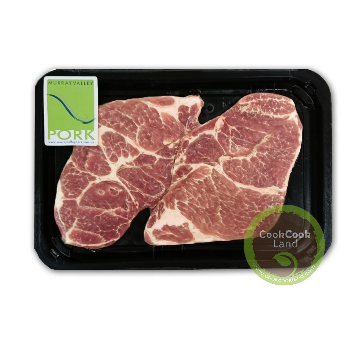 Australia Murray Valley No Added Hormones Boneless Pork Collar Butt 300g