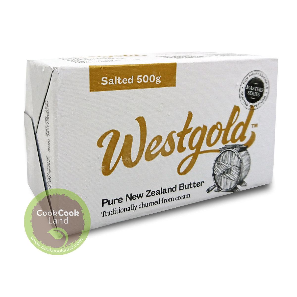 紐西蘭牛油,有鹽 500g
